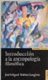 Introducción a la antropología filosófica